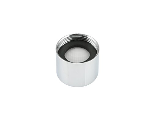Kelica M18F Universal Faucet Replacement Part Female Faucet Aerator Kit Tap Flow Restrictor For Bathroom Lavatory or Kithen Sink Faucet or Bidet Faucet, Chrome Finish, 3 PCS/Pack