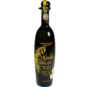 Apollo Extra Virgin Organic Olive Oil - Mistral 2006
