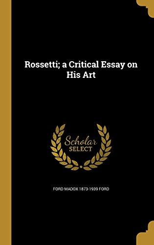 book cover of Rossetti