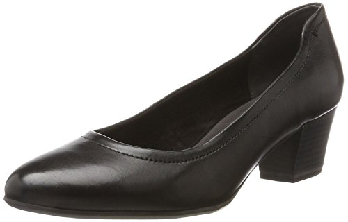 Tamaris Women's 22302 Closed-Toe Pumps Black 8LeU8O4