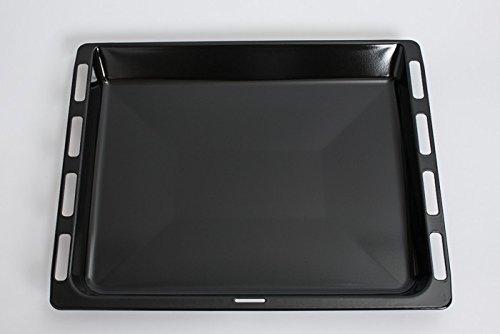 daniplus© Fettpfanne, Backblech emailliert 46,5 x 37,5 cm passend für Bosch Siemens Backofen - Nr.: 675876 daniplus© Fettpfanne
