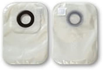 Hollister 3325 Karaya 5 Closed Pouch with Porous Paper Tape - Stoma Size: 2