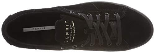 Lace para Sita Black Mujer Negro Up 001 Zapatillas Esprit Bp4Cw5xqw