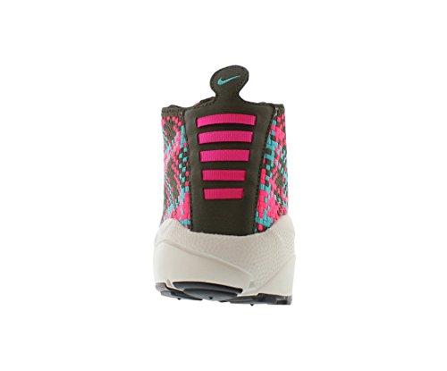 Nike Hommes Désert Air Footscape Chukka Kaki De Chargement De Chaussure Occasionnel / Hyper-jade Hyper Rose