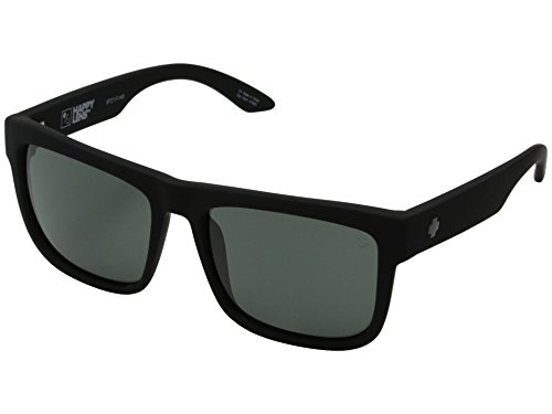 Spy Optic Discord Sunglasses Matte Black w/Happy Grey Green Lens + Sticker (Spy Optic Discord)
