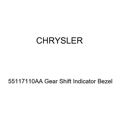 - Genuine Chrysler 55117110AA Gear Shift Indicator Bezel