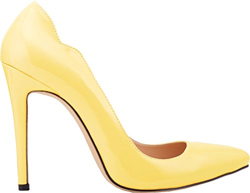 Breathable Non Yellow Stiletto 31QP Heel Vogue Nimble Toe Working Pointed Skid Convenient Spike Shallow 302 Mouth Classic Comfy CFP Business Pump YSE Womens Seasonless High Spx7A