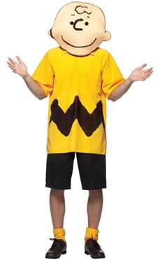 Charlie Brown Costume - One Size - Chest Size 48-52
