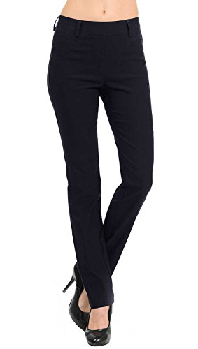 VIV Collection New Straight Fit Long Trouser Pants (Large - 32