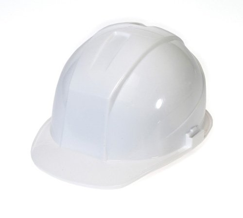 - Liberty DuraShell HDPE Cap Style Hard Hat with 6 Point Pinlock Suspension, White (Case of 6)
