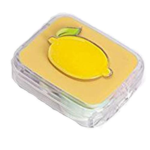 Devoko Contact Lens Case Box Kit Set with Mirror 3D Fruit Pattern Contact Lens Case Container