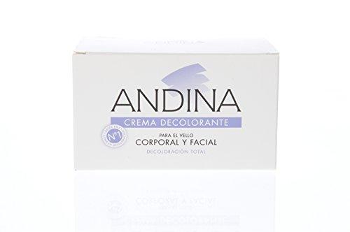 🥇 ANDINA Crema Decolorante Facial y Corporal 100 ml
