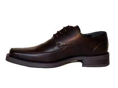 Designer Dress Shoe-Justin by Novacas (8, brown)