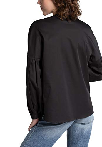Premium Sleeve Eterna Long Uni Nero Blouse 1863 By 47wTnwXqZ