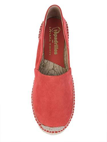 Conti L5EY81407 Espadrilles Tissu Femme Rouge Liviana 7wdf4x4