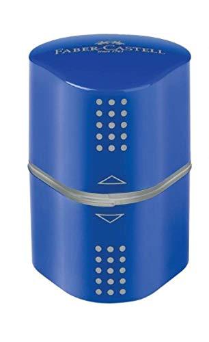 Apontador, Faber-Castell, Grip 2001, SM/MIXGRIPAPO, 3 Tipos de Furo, 2 Cores Sortidas