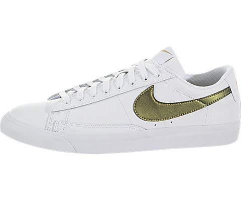 - Nike Blazer Low Premium White/Metallic Gold