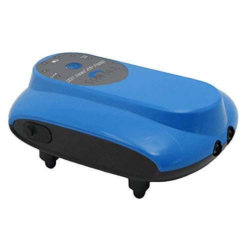 Cobalt Aquatics DC USB Rechargeable Air Pumps (DC USB Dual Output Air Pump)