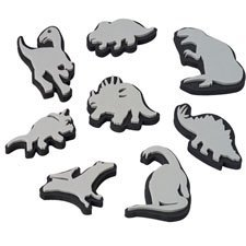 Jumbo Ink Dinosaur Stampers by Constructive Playthings