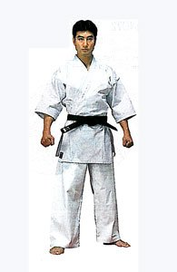 ミツボシ フルコンタクト用空手衣 K330 サイズ:00 (上下セット) K-33009