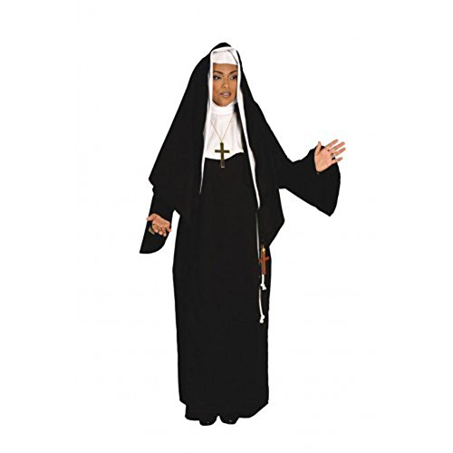 Alexanders Costumes Women's Mother Superior, Black One Size -