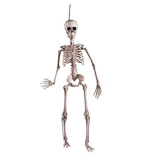 Halloween Posable Skeleton Outdoor Garden Decor]()