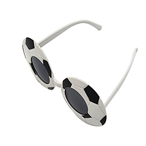 Zoylink Soccer Eyeglasses Novelty Glasses Stylish Football Party Theme Glasses Costume ()