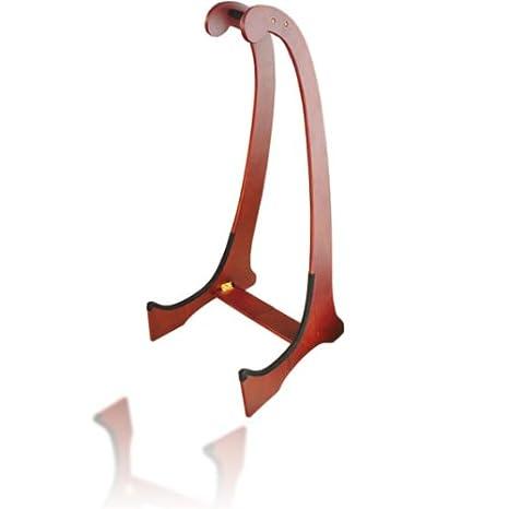 Clifton a033606 Soporte para guitarra de madera, palisandro: Amazon.es: Instrumentos musicales