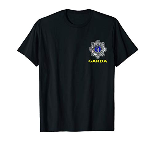 GARDA SIOCHANA Irish Police Force Replica Tee -