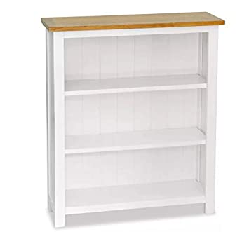 Outstanding Small White Bookcase Solid Oak Wood Rustic Shelf Unit Download Free Architecture Designs Scobabritishbridgeorg