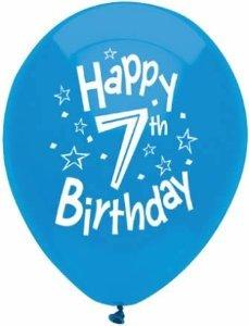 7th birthday Amazon.com: 7th birthday balloons   Seventh Birthday Balloons (8  7th birthday