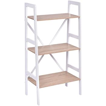 Amazon Com Dline White Wood Amp Plastic Storage Shelf