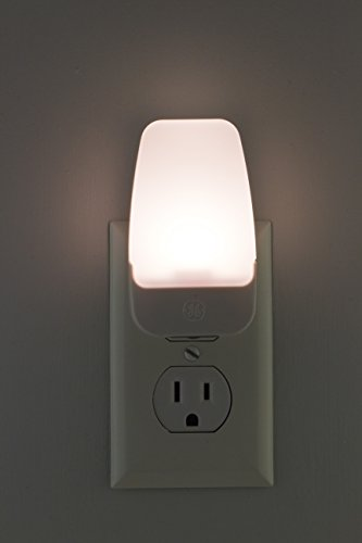 GE Plug-in LED Night, 2 Pack, Automatic, Light Sensing, Auto On/Off, Soft White, Energy Efficient, Ideal for Entryway, Hallway, Kitchen, Bathroom, Bedroom, Stairway and Office, 30966
