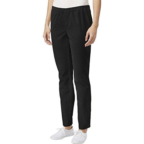 Petites Corduroy Pants - Karen Scott Womens Petites Comfort Waist Pull On Corduroy Pants Black PL