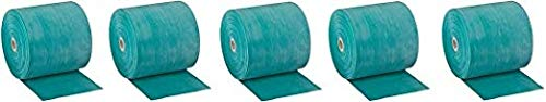 Cando 10-5623 Green Latex-Free Exercise Band, Medium Resistance, 50 yd Length (5-(Pack))