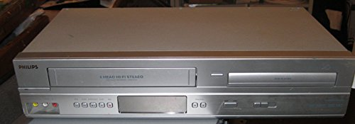 Philips Progressive Scan DVD/VHS Player - Silver (DVP3345V/17)