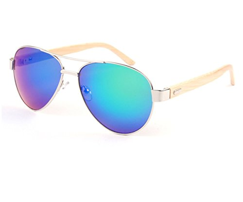 Heartisan Classic Aviator Lenses Bamboo Arm By Bike Travel Sunglasses - Sunglasses Mens Nordstrom
