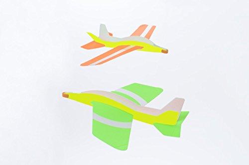 Boomerang airplane Looper Looper (2 aircraft entering)