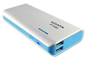 ADATA APT100 Batería de 10000 mAh, blanco y azul