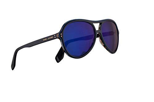 Marc Jacobs Marc 392/S Sunglasses Blue w/Blue Sky Mirror Lens 59mm PJPXT Marc 392S Marc392S Marc392/s