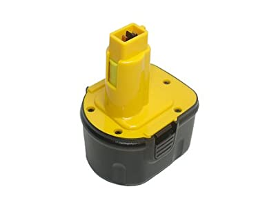 1700mAh,12V,Ni-Cd,Replacement cordless drill Battery for Dewalt DW9072, DW9071,