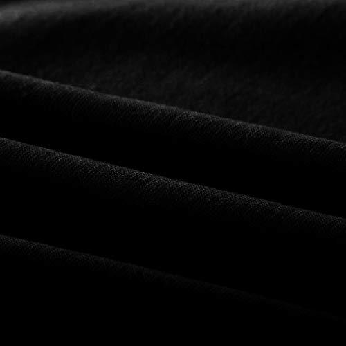 Manche Shirt T Poachers Eté Chic Solides Shirt shirt Courte Noir Tee Femme Blouse Tops V Col Casual FTTZSqfWH