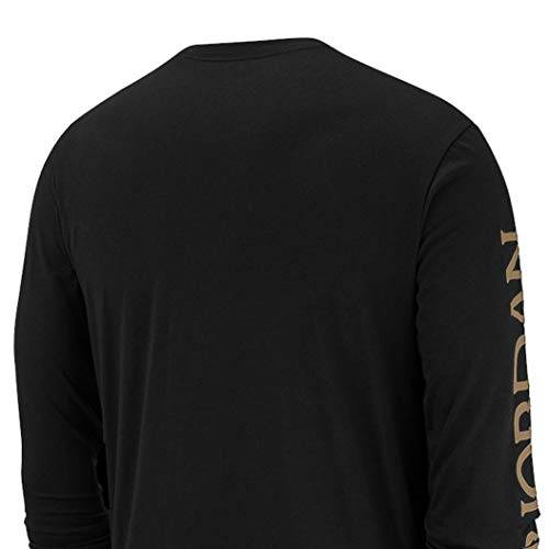 Nike Men's Jordan Mashup Classics Long-Sleeve Classics Crew T-Shirt AT8897-012 Size 2XL 4