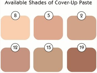 Tattoo Camouflage Cover Up Makeup Concealer Paste Triple Kit w/Remover by Tattoo Camouflage
