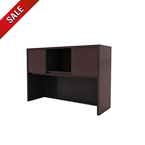 Desktop Hutch Organizer Shelves Office Desk Hutch Cabinet Wooden Computer  Furniture Large Standing U0026 EBook By