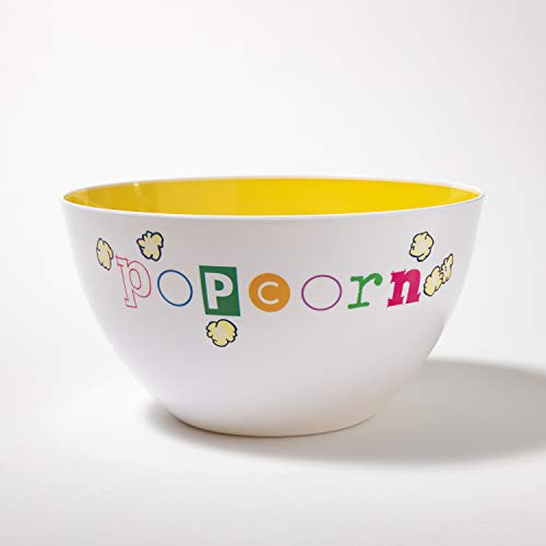 Ceramic Popcorn Bowl (Wabash Valley Farms Bowl - Popcorn Fun Time Bowl - 6)