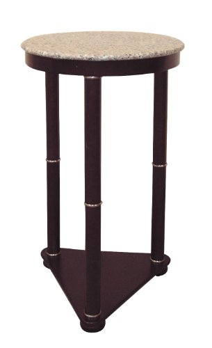 ORE International H-5 Round End Table, Cherry - Table Cherry Ore International End