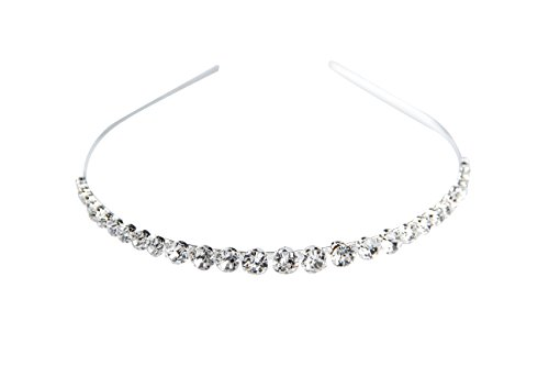 ClearBridal Fashion Womens Crystal Rhinestone Beads Headband Hair Band