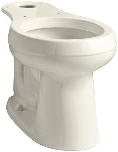 KOHLER 4829-47 Cimarron Comfort Height Round-Front Toilet Bowl with 10