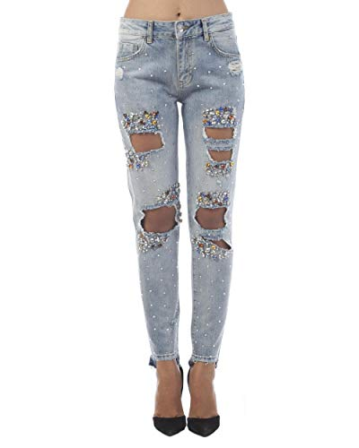 Wash den F18117 27 Liu Taglia Pieces Primavera d424077563 w Boy estate Jeans Express blue H a8e 0q04av
